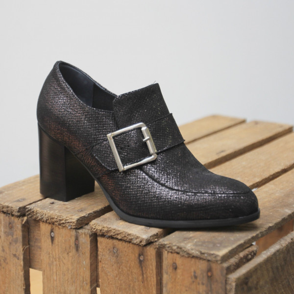 Roberto de Angelo Denver Dakota E188 Damen College Pumps in schwarz/metallic - Schuh Lust Kassedy, Damenschuhe, Herrenschuhe, Übergrößen, Oldenburg